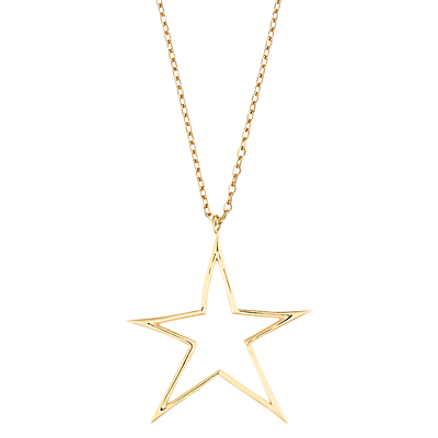 Estella Bartlett Open Star Pendant Necklace