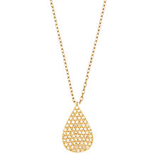 Buy Estella Bartlett Cubic Zirconia Raindrop Necklace Online at johnlewis.com