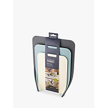 Buy Joseph Joseph Nest Choping Boards, Opal, Set of 3 Online at johnlewis.com