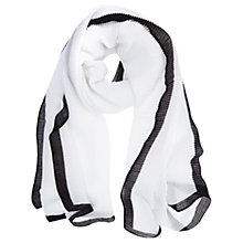 Buy Mint Velvet Crinkle Texture Scarf Online at johnlewis.com