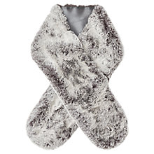 Buy Jacques Vert Faux Fur Tippet, Mid Grey Online at johnlewis.com