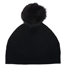 Buy L.K. Bennett Rosa Pom Pom Hat Online at johnlewis.com