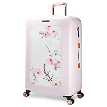 Buy Ted Baker Oriental Blossom 79cm 4-Wheel Suitcase, Pink Online at johnlewis.com