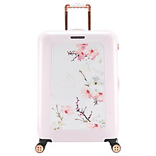 Buy Ted Baker Oriental Blossom 69cm 4-Wheel Suitcase, Pink Online at johnlewis.com