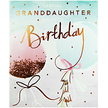Buy Cardmix Special Granddaughter Birthday Card Online at johnlewis.com