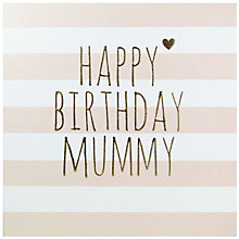 Buy Belly Button Designs Happy Birthday Mummy Greeting Card Online at johnlewis.com