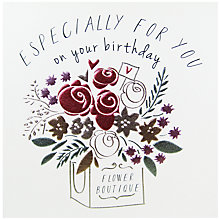Buy Belly Button Designs Birthday Greeting Card Online at johnlewis.com
