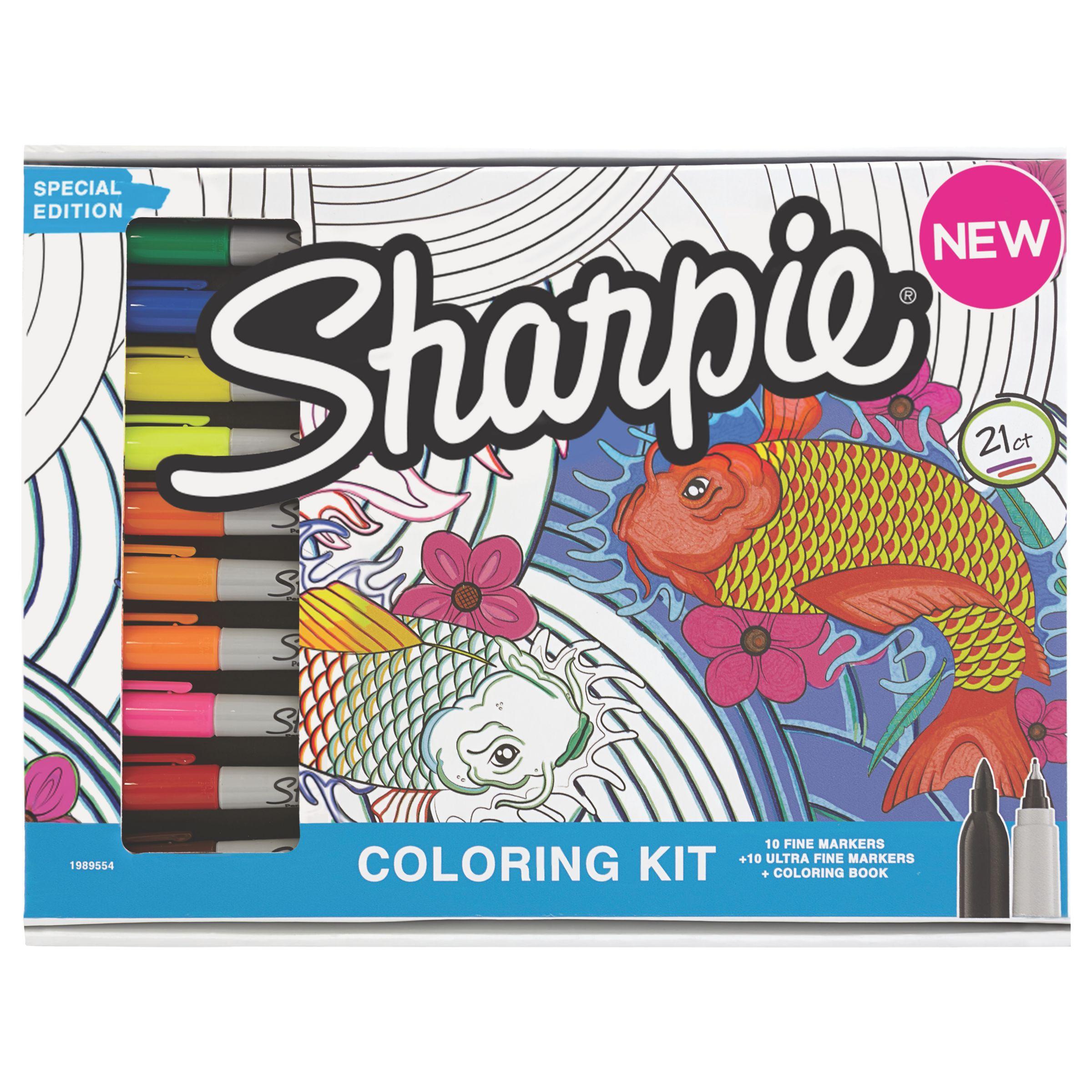 Sharpie Sharpie Colouring Kit, Pack of 20