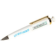 Buy NPW Unicorn Predictor Pen Online at johnlewis.com