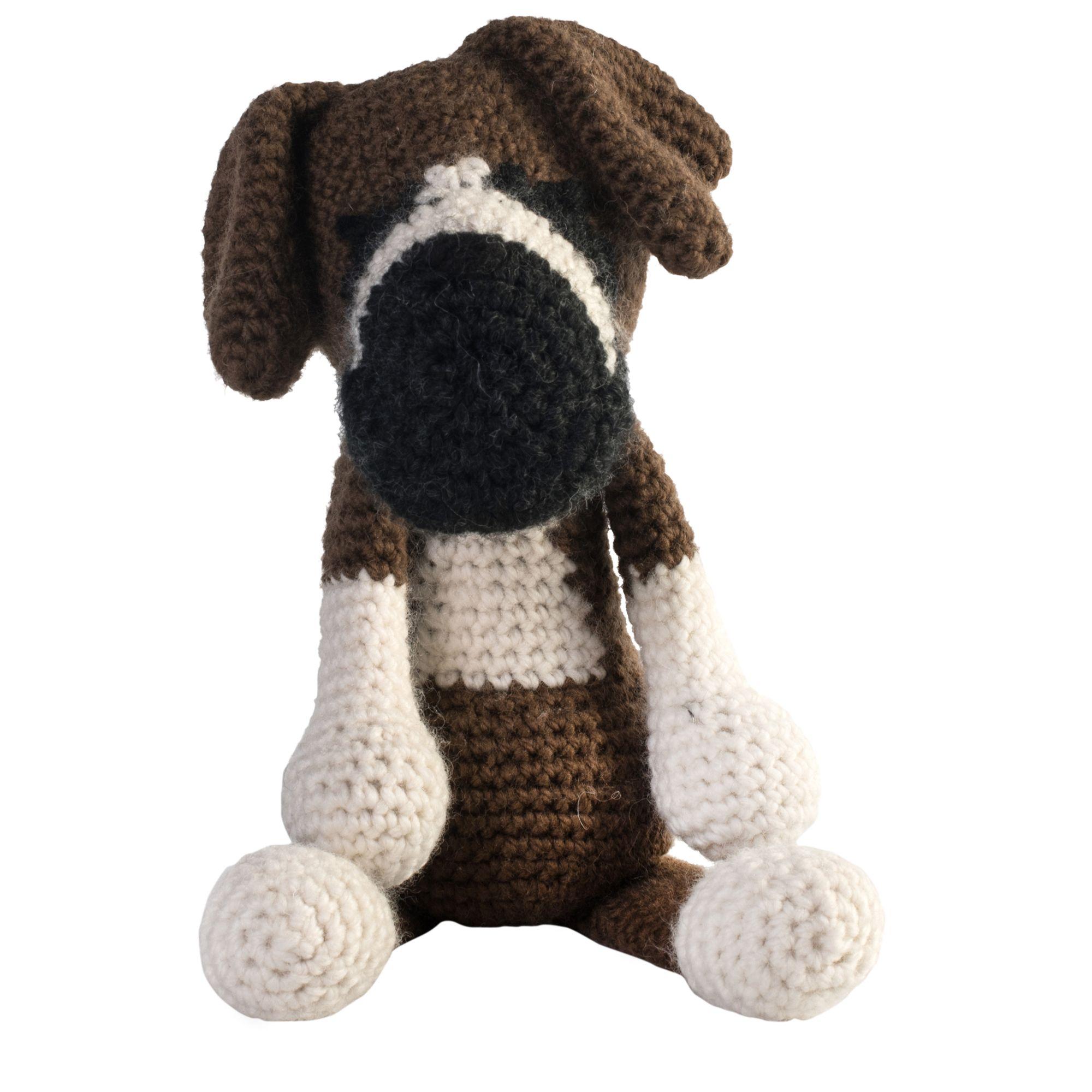 Amigurumi Boxer Dog : Buy Toft Kate the Boxer Dog Crochet Kit John Lewis