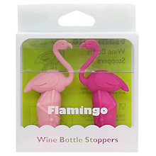 Buy Final Touch Flamingo Bottle Stoppers, Set of 2 Online at johnlewis.com