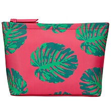 Buy John Lewis Cheese Plant Print Large Wash Bag, Multi Online at johnlewis.com