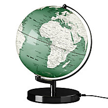 "Buy Wild Wood Light Up 10"" Globe, Swedish Green Online at johnlewis.com"