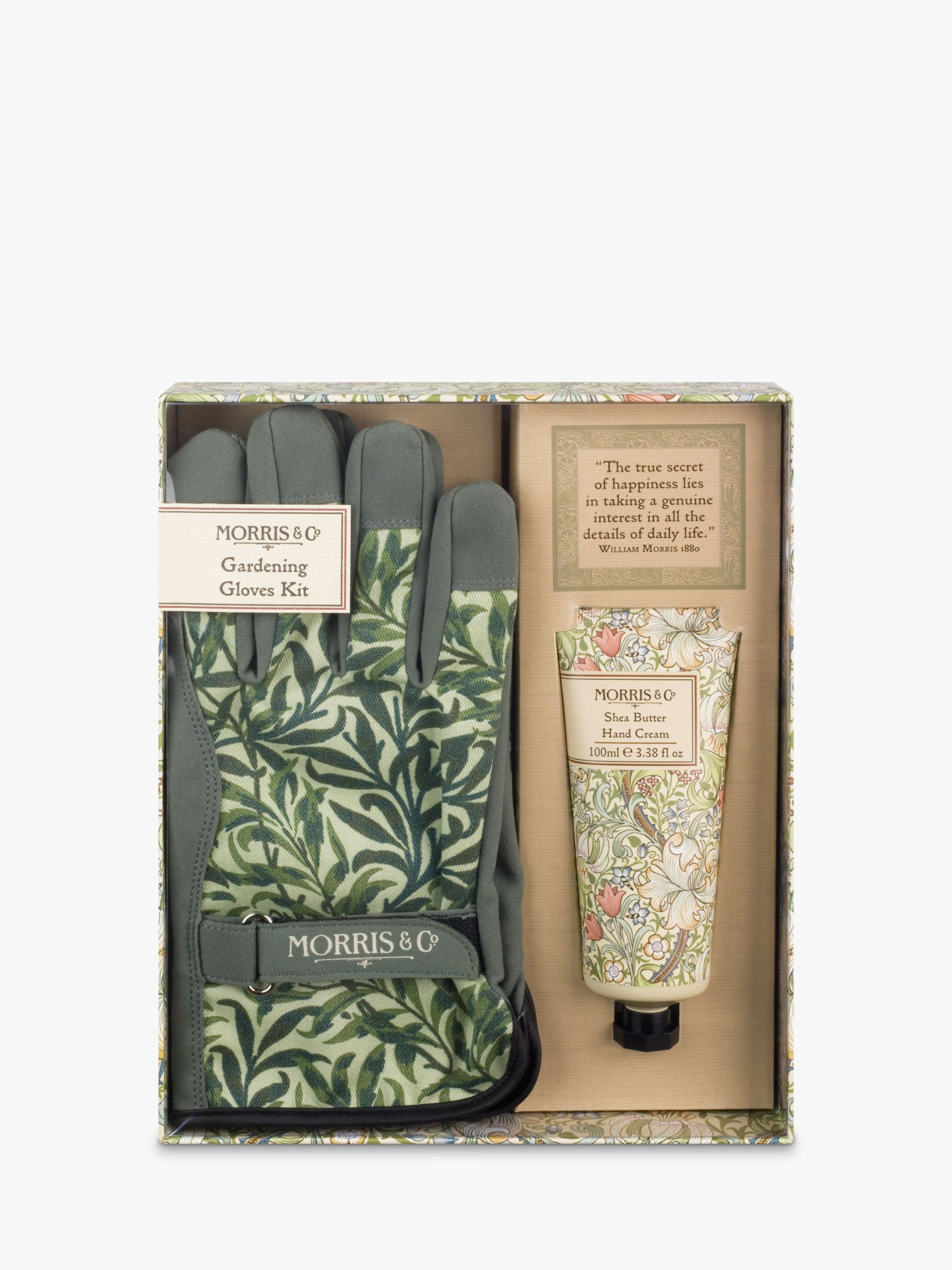 Morris & Co Morris & Co Gardening Gloves and Hand Cream Gift Set