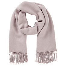 Buy Miss Selfridge Tassle Soft Scarf, Purple Online at johnlewis.com