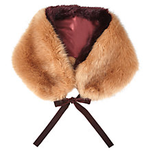 Buy Miss Selfridge Faux Fur Neck Tie, Multi Online at johnlewis.com