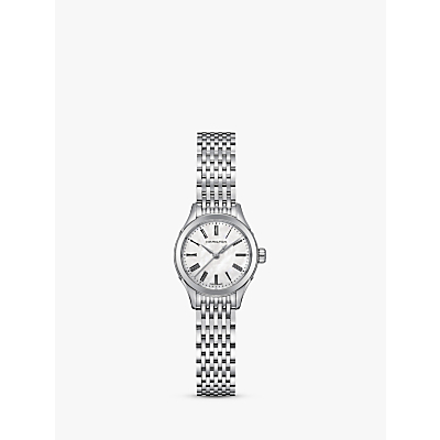 Hamilton H39251194 Women's Valiant Bracelet Strap Watch, Silver