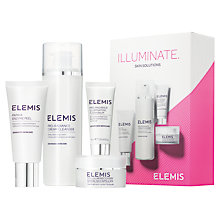 Buy Elemis Illuminate Skin Solutions Skincare Gift Set Online at johnlewis.com