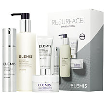 Buy Elemis Resurface Skin Solutions Skincare Gift Set Online at johnlewis.com