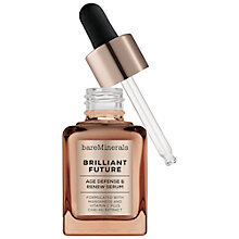 Buy bareMinerals Brilliant Future™ Age Defense & Renew Serum, 30ml Online at johnlewis.com