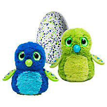Buy Hatchimals Draggle Green Egg Online at johnlewis.com