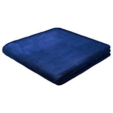 Buy Biederlack Chunky Fleece Throw, 330gsm Online at johnlewis.com