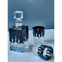 Buy waterford black cut crystal brandy glass set of 2 john lewis - Waterford cognac glasses ...