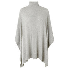 Buy L.K. Bennett Trenna Poncho, Grey Online at johnlewis.com