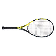 Buy Babolat Aero G Intermediate Graphite Tennis Racket, Black/Yellow Online at johnlewis.com