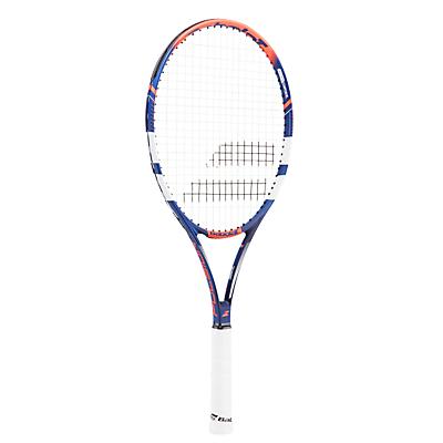 Babolat Pulsion 102 Adult Beginner Aluminium Fused Graphite Tennis Racket, Blue/Red/White