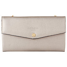 Buy L.K. Bennett Dakoda Saffiano Leather Envelope Clutch Bag Online at johnlewis.com