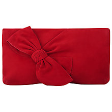 Buy L.K. Bennett Fay Bow Clutch Bag Online at johnlewis.com