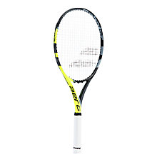 Buy Babolat Aero Junior 26 Tennis Racket, Black/Yellow Online at johnlewis.com