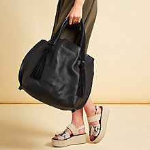 Buy Modern Rarity Rowena Large Tote Bag, Black Online at johnlewis.com