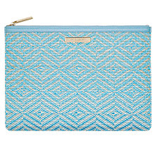 Buy Katie Loxton Woven Pouch Online at johnlewis.com
