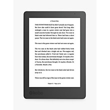 "Buy New Kobo Aura eReader, 6"" Illuminated Touch Screen, Wi-Fi Online at johnlewis.com"