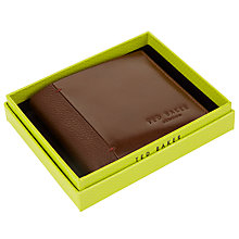 Buy Ted Baker Splitz Contrast Spine Wallet Online at johnlewis.com