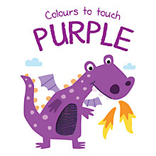 Buy Colours To Touch Purple Board Children's Book Online at johnlewis.com