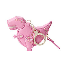 Buy kate spade new york T Rex Leather Coin Purse, Tea Time Pink Online at johnlewis.com