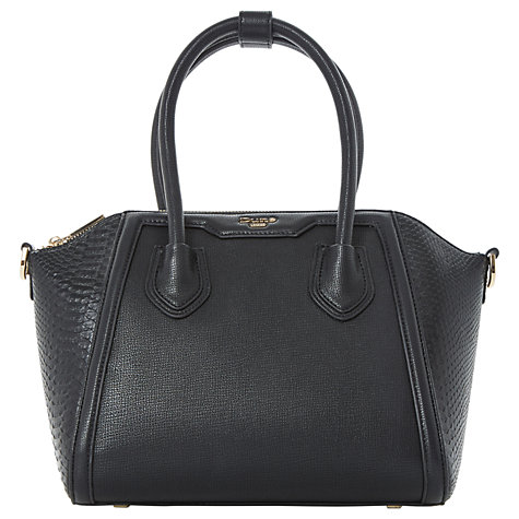 Buy Dune Dinessy Tote Bag, Black Online at johnlewis.com