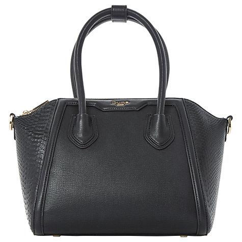 Buy Dune Dinessy Tote Bag, Black Online at johnlewis.com