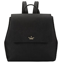 Buy kate spade new york Cameron Street Small Neema Leather Backpack, Black Online at johnlewis.com