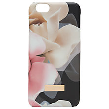 Buy Ted Baker Ano Porcelain Rose iPhone 6 Plus Case, Black Online at johnlewis.com