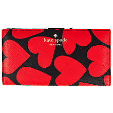 Buy kate spade new york Stacey Leather Continental Purse, Multi Online at johnlewis.com