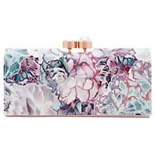 Buy Ted Baker 	Arllo Illuminated Bloom Matinee Purse, Purple Online at johnlewis.com