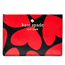 Buy kate spade new york Be Mine Leather Card Holder, Multi Online at johnlewis.com