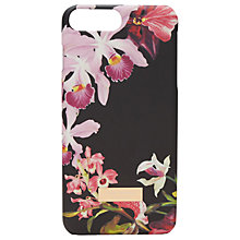 Buy Ted Baker 	Sidra Lost Gradens iPhone 6 Plus Case, Black Online at johnlewis.com