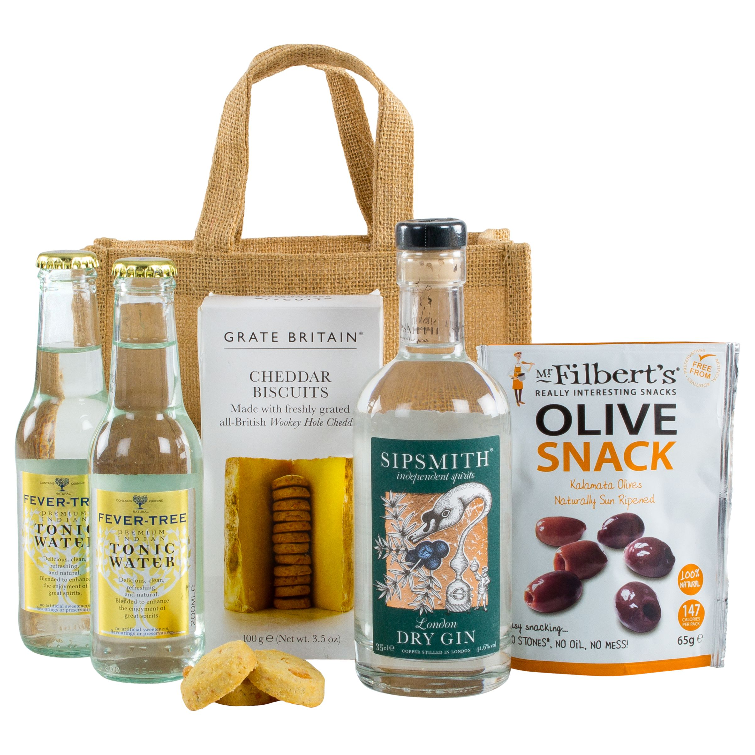 Unbranded John Lewis Ultimate Gin And Tonic Hamper