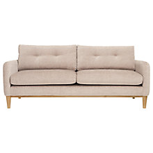Buy Content By Terence Conran Ashwell Large 3 Seater Sofa, Light Leg Online at johnlewis.com