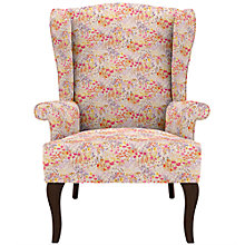 Buy John Lewis Shaftesbury Wing Armchair, Dark Leg Online at johnlewis.com